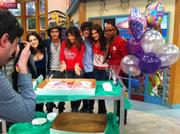 Daniella Monet - Birthday celebration on set of &amp;quot;Victorious&amp;quot; - March 1, 2012