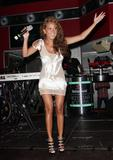 Adrienne Bailon | Performance @ Heineken Red Star Access GOOD Music Event in Miami | July 12 | 8 leggy pics