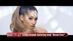 Ariana Grande feat. Zedd - Break Free - Disney Channel Premiere - 08 15 2014  [720p]