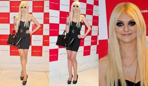 Taylor Momsen-2012 Japan Event Collage