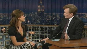 Jessica Alba - Late Night with Conan O'Brien (2005)