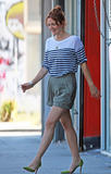 Drew Barrymore | Shopping in Beverly Hills | July 23 | 21 leggy pics