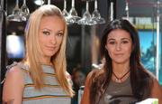 Emmanuelle Chriqui & Olivia Wilde Candids On The Set Of ~ The O.C. ~