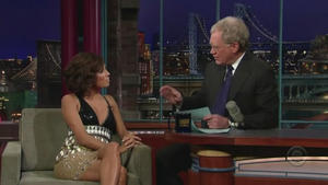Eva Longoria - Late Show with David Letterman (2008)
