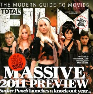 Vanessa Hudgens, Emily Browning, Abbie Cornish, Jamie Chung & Jena Malone - 'Sucker Punch' Girls - Total Film January 2011