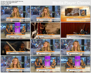 Kristen Bell on &amp;quot;Today&amp;quot; 8/22/2012