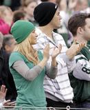 Hayden Panettiere - At New York Jets game, November 27, 2011